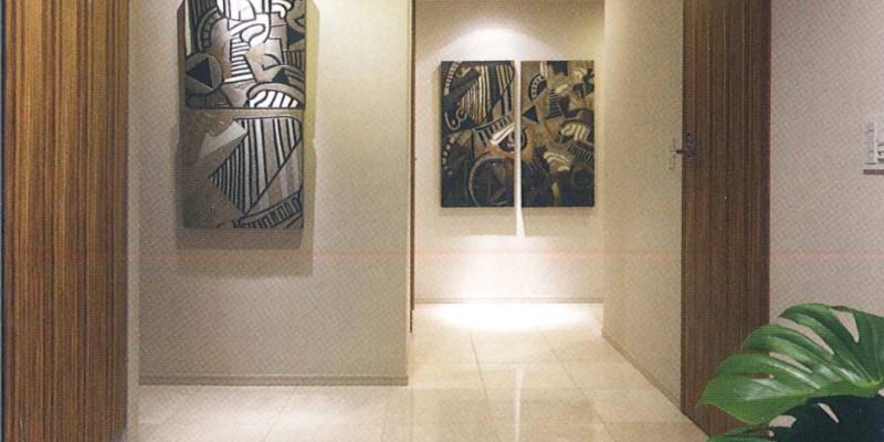 スカイクルーズタワー完成写真玄関